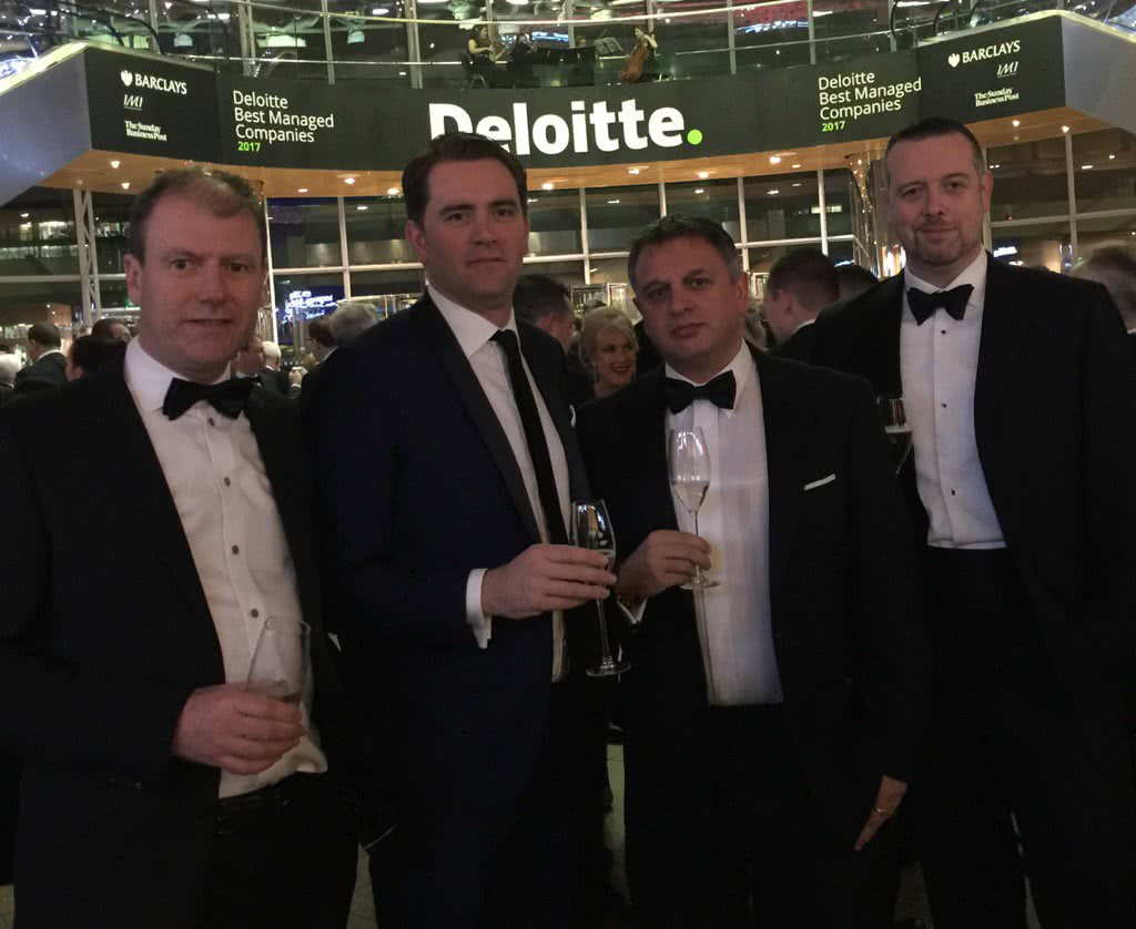 SalesSense at the Deloitte Best Managed Awards 2017