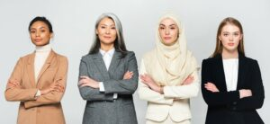 Diverse Female Leadership Team