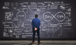 Agile Development chalkboard